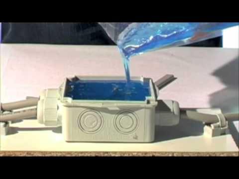 Gel Silicone Boite Derivation Magic Box Raytech Youtube