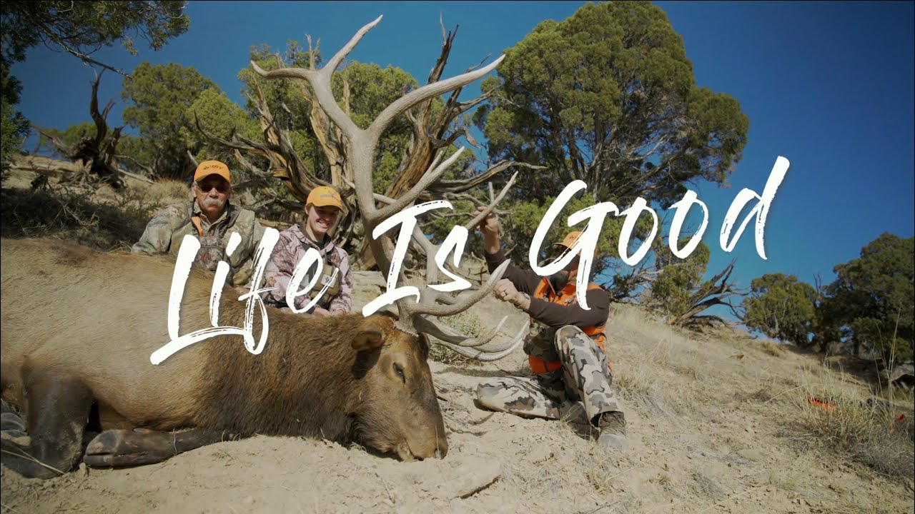 """Life Is Good"" A Wyoming Elk Hunt"