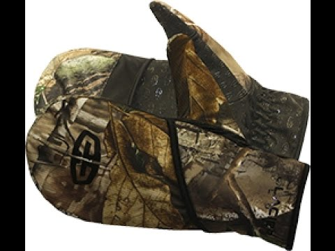 Glacier Glove Realtree Flip Mitten Glove For Fishing And Hunting
