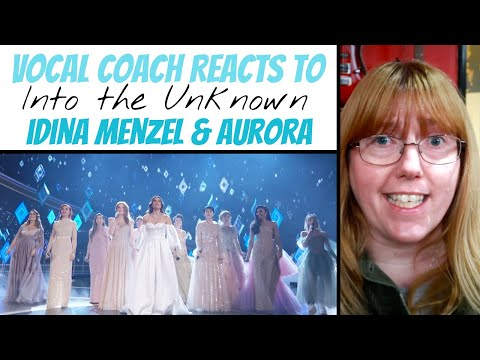 Vocal Coach Reacts to 'Into the Unknown' Oscars 2020 Idina Menzel, Aurora & More