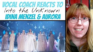 Musical Theatre Coach Reacts to 'Into the Unknown' Oscars 2020 Idina Menzel, Aurora & More