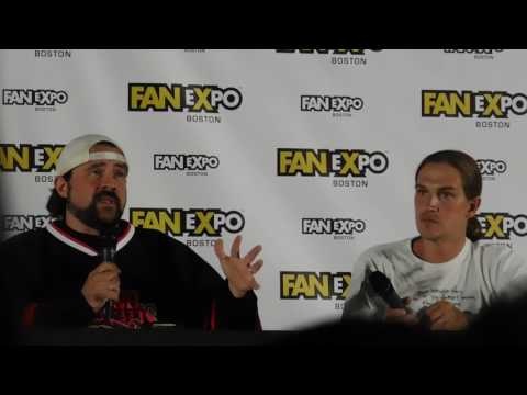 Jay and Silent Bob NSFW ending @ Boston Comic Con 2017 (Kevin Smith, Jason Mewes)