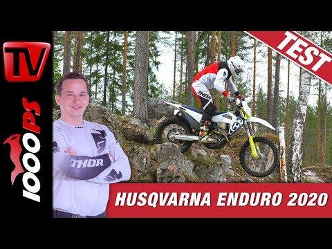 Husqvarna Enduro 2020 - alle Neuheiten der TE und FE Modelle!
