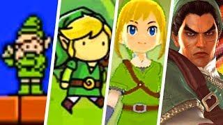 Evolution of Weird The Legend of Zelda Cameos (1989 - 2019)
