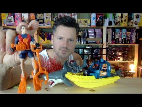 Kid Connection Shark Exploration Play Set Vs Fisher-Price Adventure People Unboxing Review