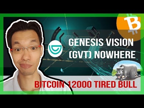 🌱GENESIS VISION (GVT) NOWHERE REVIEW | BITCOIN BULLS TIRED