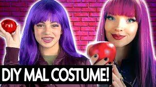 Mal Descendants 2 DIY Costume & Makeup!   Halloween 2017