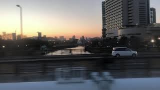 JR西日本323系大阪環状線【普通】マリオ列車で地べた区間をプチ乗車!