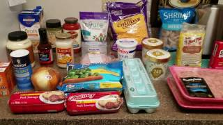 Keto Publix & Walmart Grocery Haul with Prices 4/13/2017