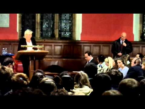 Marine Le Pen at the Oxford Union (II)