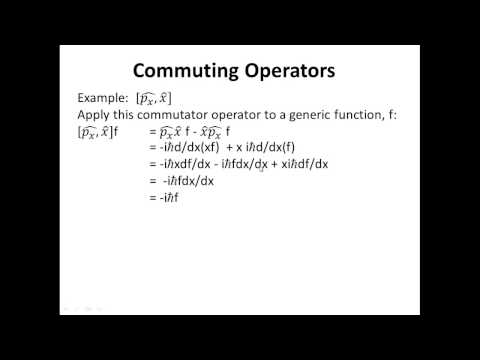 Commuting Operators
