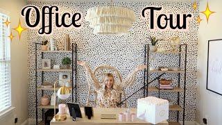 MY_NEW_OFFICE_REVEAL_+_TOUR!_|_BOHO_OFFICE_DECOR_|_Tara_Henderson