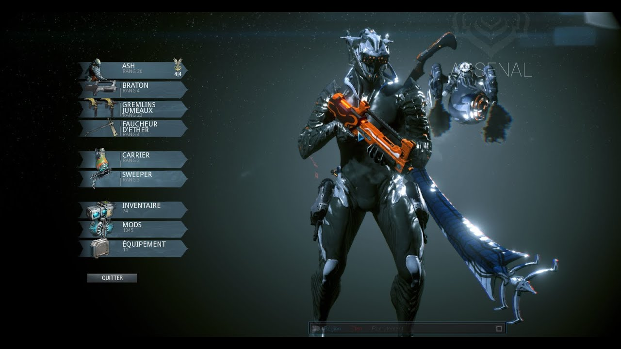 My Excalibur Prime Color Design And Armor Update 13
