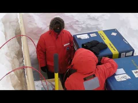 Antarctic trip 2012-2013: SouthPole Station sys4 Test 4EBox 5Cable 6FGM