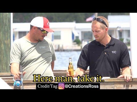 Peer Pressuring People on a Pier