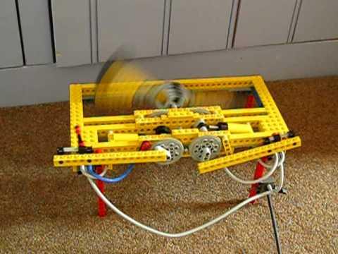 lego 2 cilinder pneumatic engine