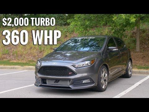 Focus ST With BIG TURBO - Is it Worth the $2,000 Upgrade?!
