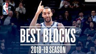 Rudy Gobert's Best Blocks | 2018-19 Season | #NBABlockWeek
