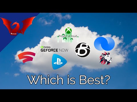 Cloud Gaming Services Ranking List 2021