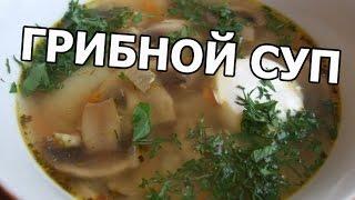 Как приготовить грибной суп. Рецепт грибного супа от Ивана!