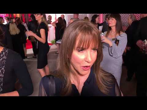 Laraine Newman 'Saturday Night Live': TV Hall of Fame red carpet before 2017 induction ceremony.