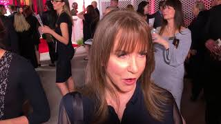 Laraine Newman ('Saturday Night Live'): TV Hall of Fame red carpet before 2017 induction ceremony.