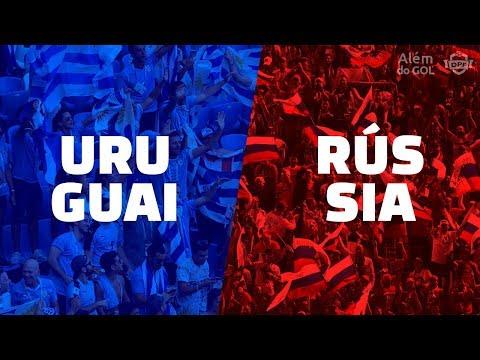 Classificadas: Uruguai e Rússia   Além do GOL