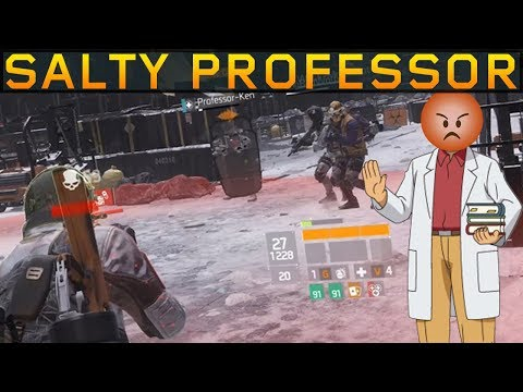 The Salty Shield Professor! SOLO DZ PVP #88 (The Division 1.8.3)
