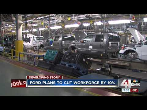 Ford plans to cut workforce by 10 percent