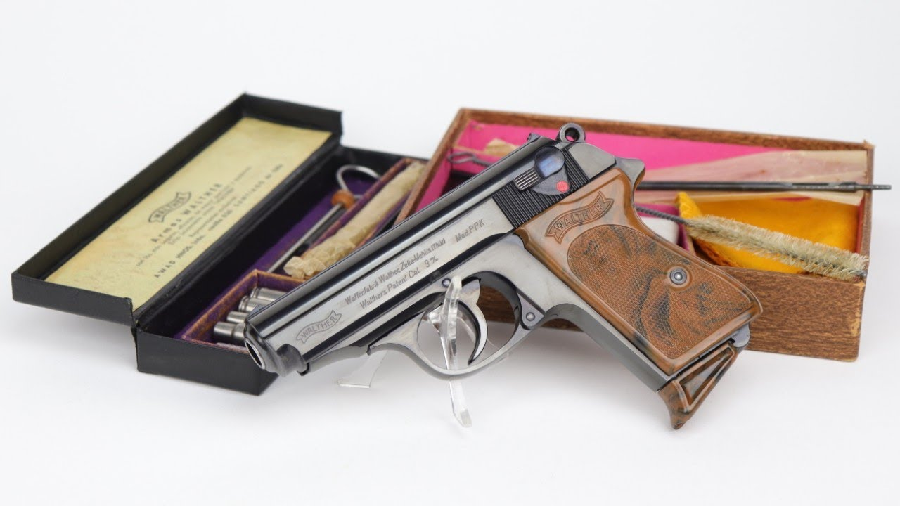 1936 Boxed Chilean Walther PPK | ONLY ONE IN THE WORLD!