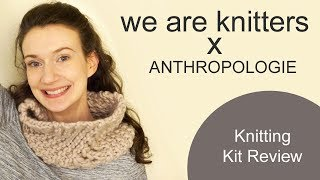 We Are Knitters x Anthropologie Lace Snood Kit Review
