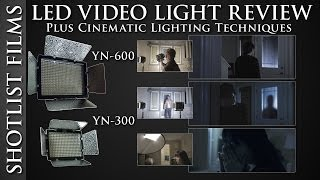 YN-600 LED Video Lighting Review   Plus Lighting Techniques