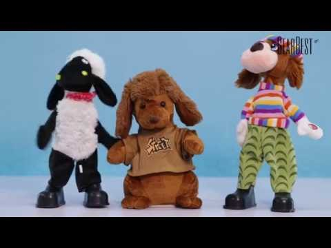 Crazy Dancers: Musical Shaking Head Plush Toys - Gearbest.com