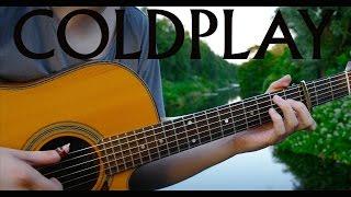 Ink - Coldplay [Fingerstyle Guitar Cover by Eddie van der Meer]