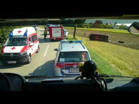 Einsatzfahrt HLFA2 2000/300 der FF Oeynhausen.
