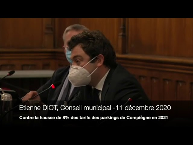 Stop à la hausse du prix des parkings à Compiègne