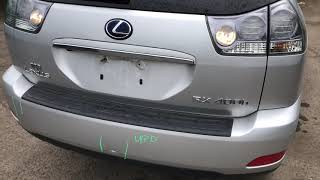 Lexus RX 2008: Обзор/тест автомобиля на разбор (машинокомплект) из США(USA) от «АвтоКухня»