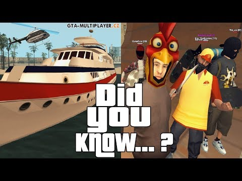 GTA San Andreas Multiplayer Secrets and Facts 2