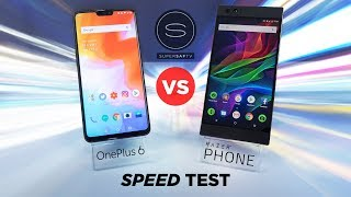 OnePlus 6 vs Razer Phone SPEED Test