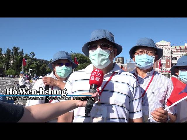 Semarak Perayaan HUT ROC 110   RTI Siaran Indonesia