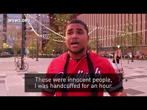 St. Louis police suppress protests against police brutality