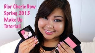 Evening Make Up Tutorial with Dior Spring 2013 Cherie Bow Collection!