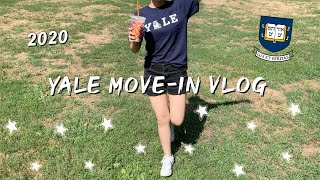 COLLEGE MOVE IN DAY VLOG 2020 | Freshman Year at Yale University