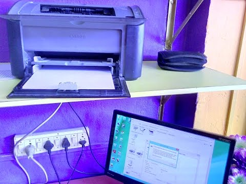 How to Install Canon Laser Printer Drivers in PC & Laptop