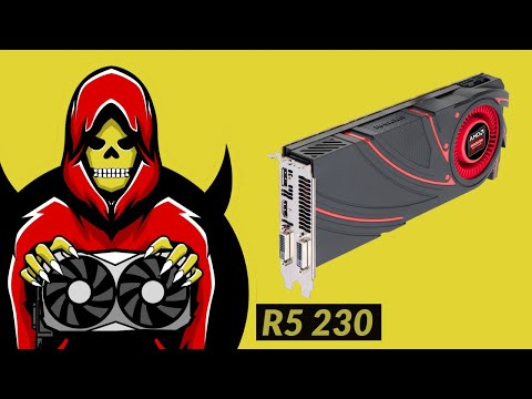 R5 230 Test In 6 Games (2019)