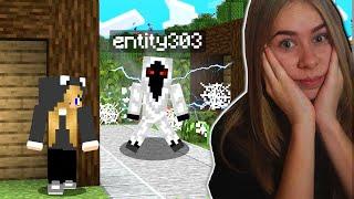 ENTITY 303 zaatakował mój ŚWIAT w Minecraft...!