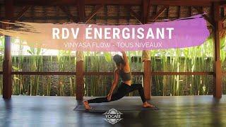 RDV énergisant - Vinyasa flow - Tous niveaux