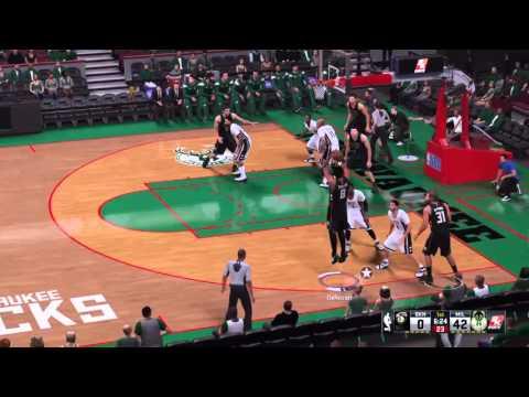 Brooklyn Nets @  MILWAUKEE BUCKS
