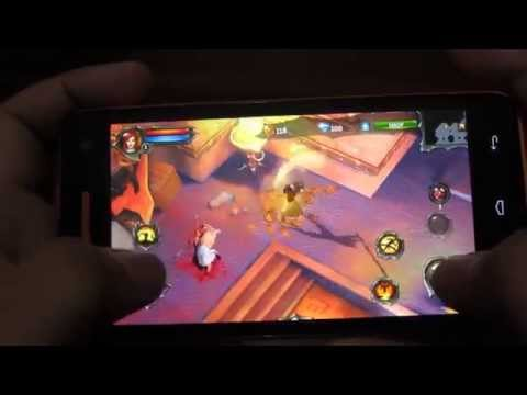 MyPhone Agua Rio Gaming Tests - Dungeon Hunter 4 (Graphics Setting: High)