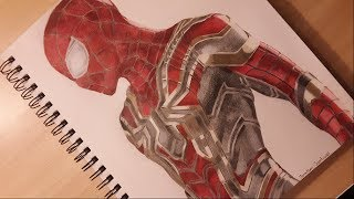 Drawing Iron Spider-Man